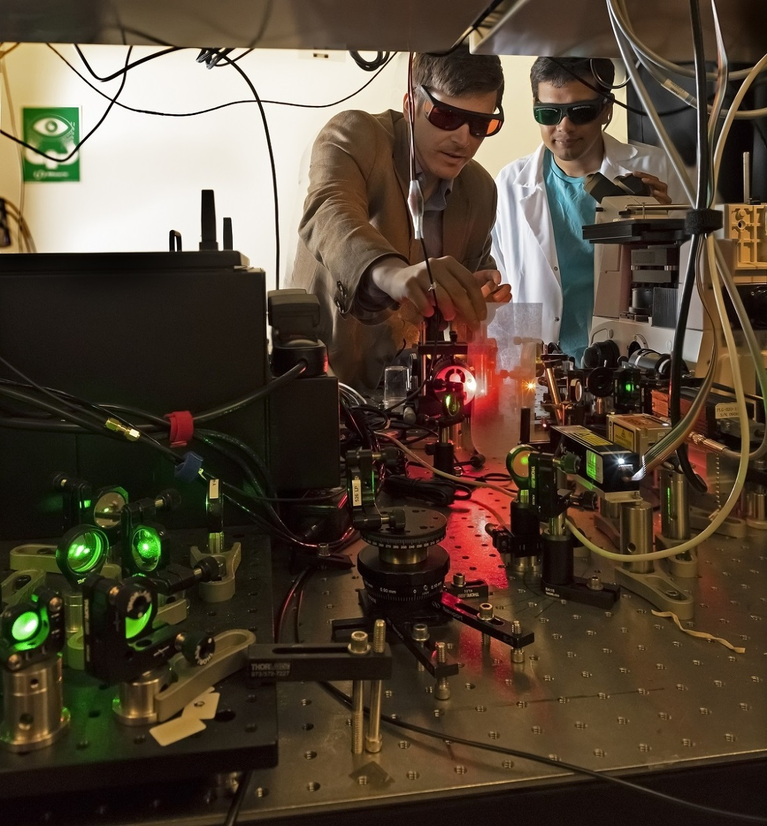 The Purdue University Quantum Center, including Simeon Bogdanov and Sajid Choudhury, is investigating how to advance quantum communication for practical uses.