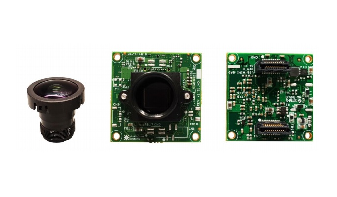 AR0521 Camera module, USB 3.0 Interface board and lens