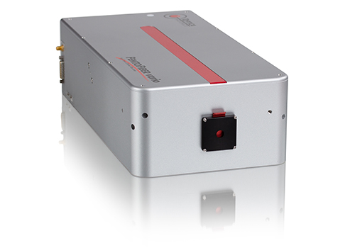 Due to its industrial-grade, passively-cooled design and the detachable, compact laser head, the FemtoFiber vario 1030 is an excellent fit for OEM integrators.