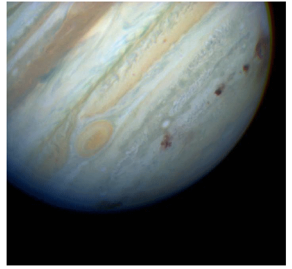 Traces left in Jupiter's atmosphere after the impact of comet Shoemaker