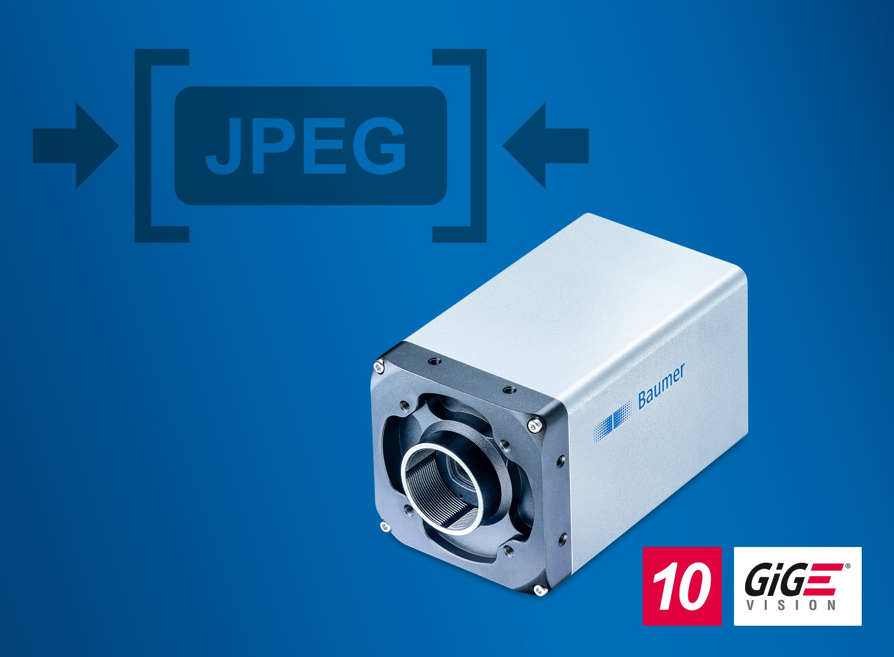 The high-speed LXT cameras with integrated JPEG image compression save bandwidth, CPU load, and storage capacity for a simpler and more cost-effective system design.