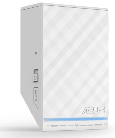 ASUS RP-N53 with power and WPS buttons