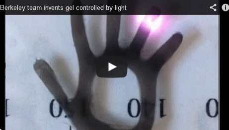 gel controlled by light