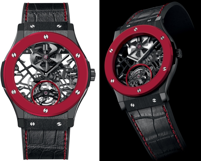 The Red'n'Black Skeleton Tourbillon