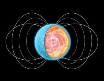 Artistic rendering of a neutron star