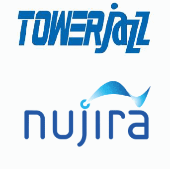 TowerJazz and Nujira logo