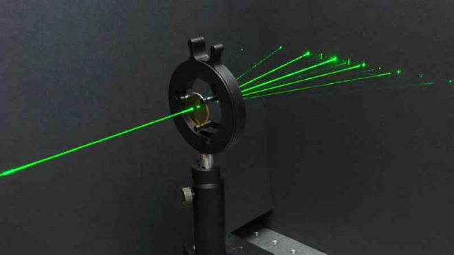 An ultrafast laser fabricated structures
