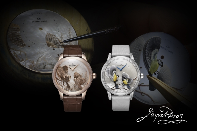 JAQUET DROZ HONORS THE MAGIC OF BIRDS