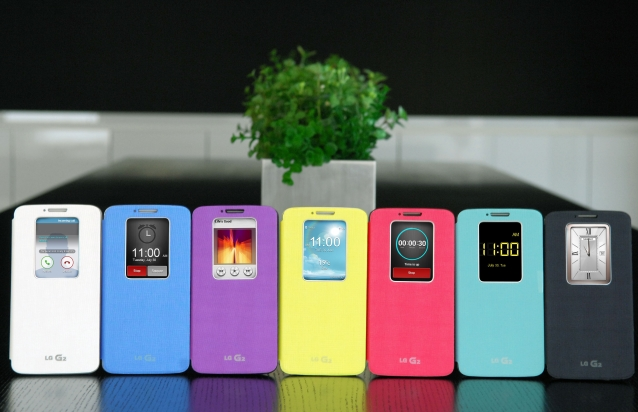 QuickWindow Case for LG G2