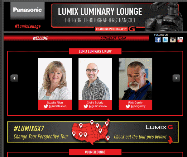 LUMIX Luminary Lounge