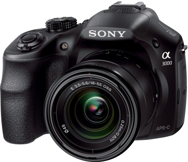 a3000 DLSR- STYLE INTERCHANGEABLE LENS CAMERA