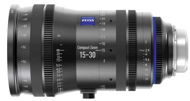 Rendering of the new ZEISS Compact Zoom CZ.2 15-30/T2.9 with PL mount