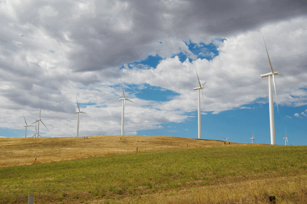 A new study finds that it may be better for the environment to temporarily shut down a wind turbine than to store the surplus electricity it generates