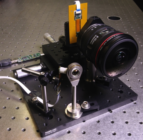The new fiber-coupled monocentric lens camera