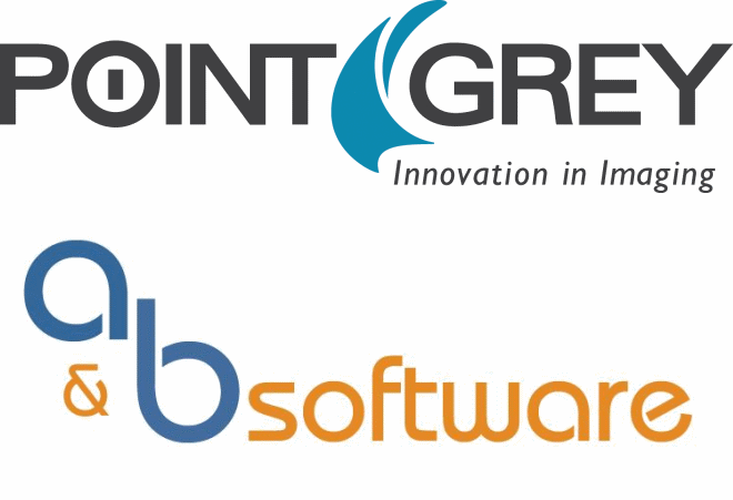 Point Grey and A&B Software logo
