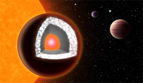 In the sky with diamonds? A so-called Super-Earth, planet 55