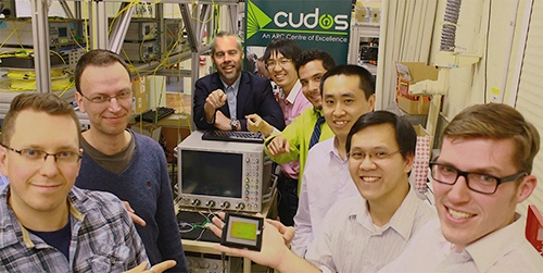 The CUDOS research team at the University of Sydney