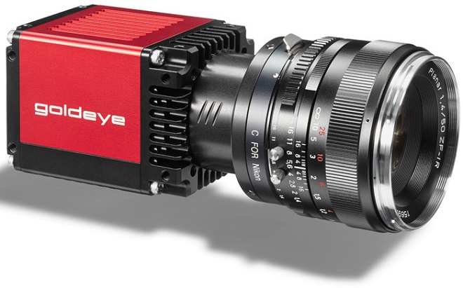 AVT new Goldeye short-wave infrared camera