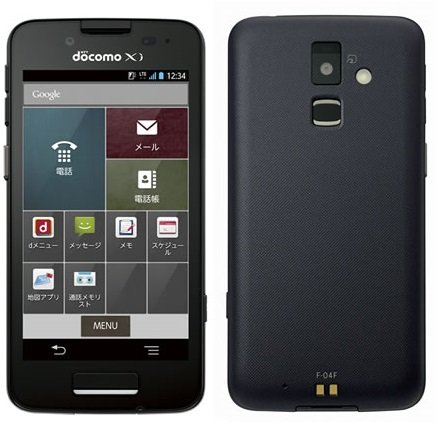 Business smartphone F-04F