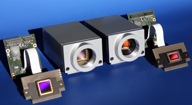 Intelligent VC cameras featuring CMOSIS sensors