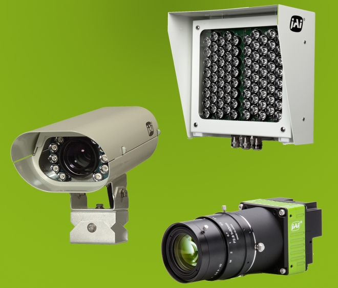 JAI offers a full range of vehicle imaging components, from complete integrated camera subsystems to cutting edge CCD/CMOS camera components, to high performance LED flashes.
