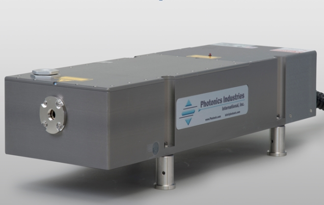 Photonics Industries high power DS Series Q-Switched, intra-cavity UV harmonic Nd:YVO4 lasers