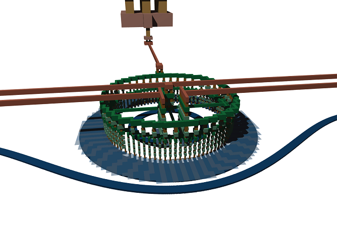 3D render of the modulator