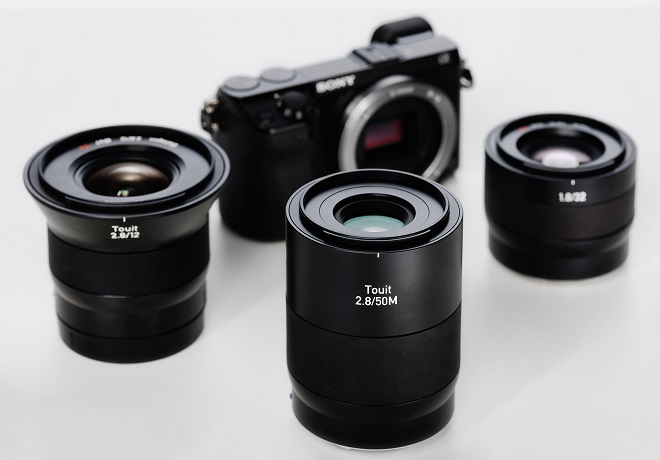The Touit 2.8/50M with E-mount and the Touit lens family