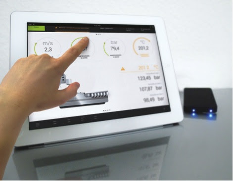 The Smart HMI Stick enables all functions to be accessed