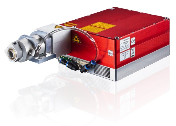 The DPI diode laser system has a high beam quality at 500 W output power