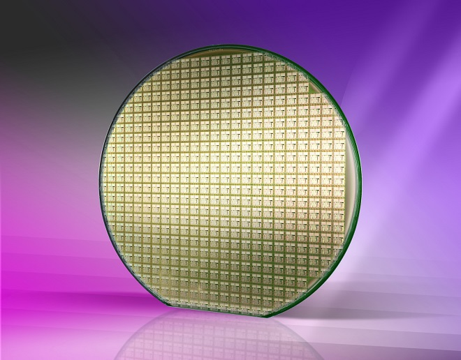DSI Gold Coating on Silicon Wafer