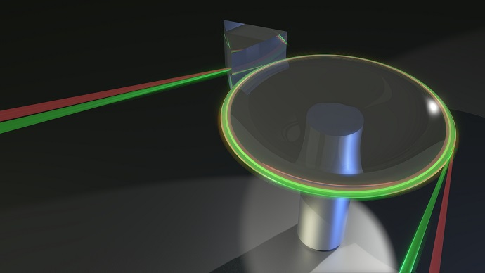 A computer generated image of the Light Thermometer