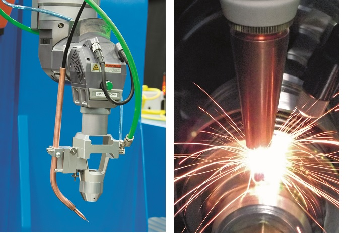 Laserdyne's fiber laser welding technology and systems provide new capability and flexibility for welding a wide range of metals and alloys