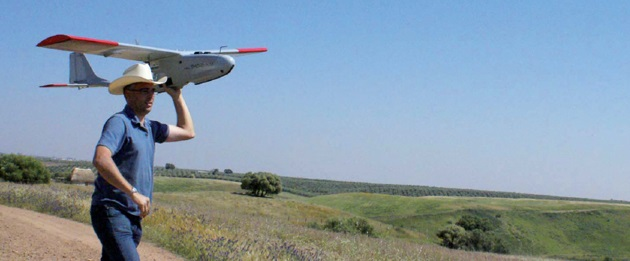 Nano-Hyperspec Sensor Fits Small Hand-Launched UAVs