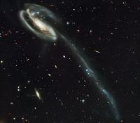 An optical image of the Tadpole galaxy