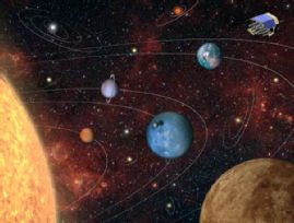 An artists impression of planetary systems