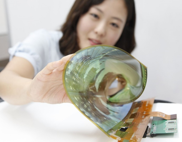 Flexible Rollable OLED