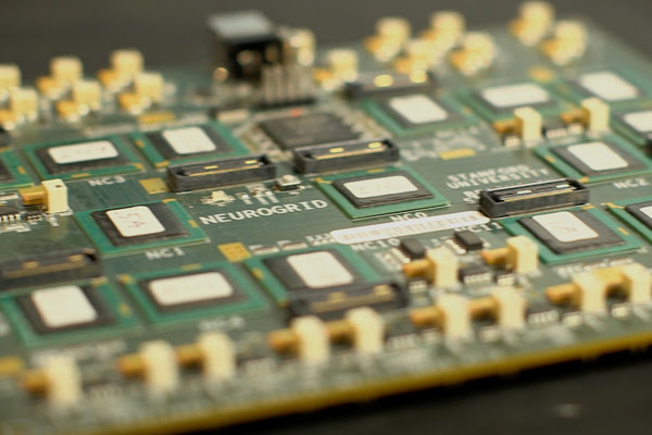 The Neurogrid circuit board
