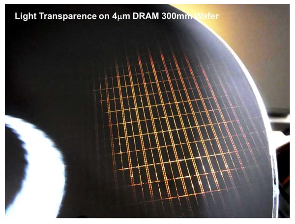 300mm DRAM wafer