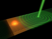Ultrafast remote switching of light
