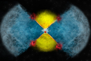 Astronomers see right into heart of exploding star