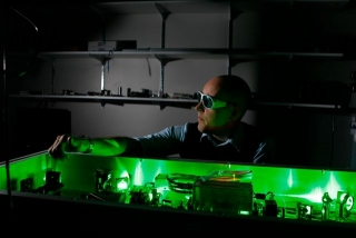 laser in McGill University lab