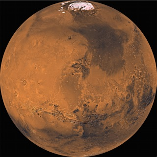 A global mosaic of Mars from the Viking mission