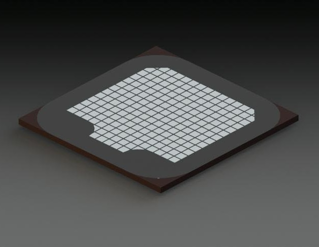 large LED die from Plessey