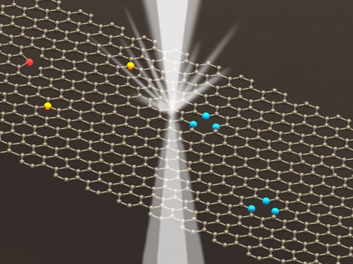 graphene can be used to make photonic diodes