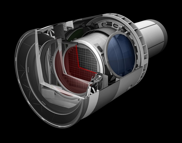 Rendering of the LSST camera