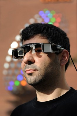 A prototype next-generation Head Mounted Projection Display