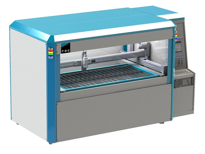 Flatbed laser cutting system