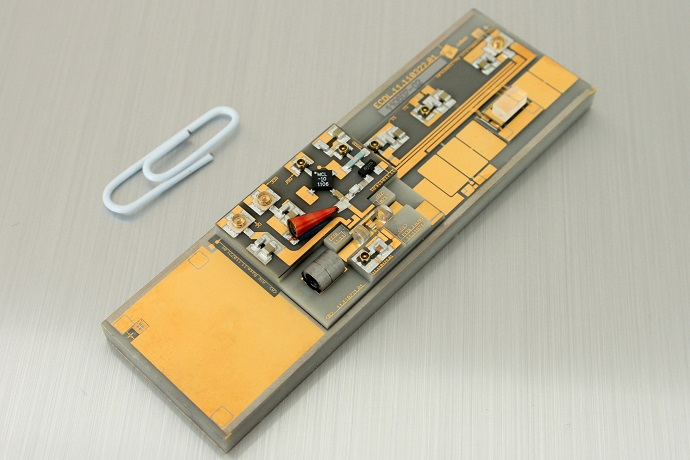 High-power diode laser module for space applications