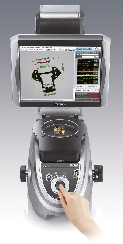 Keyence Image Dimension Measurement System